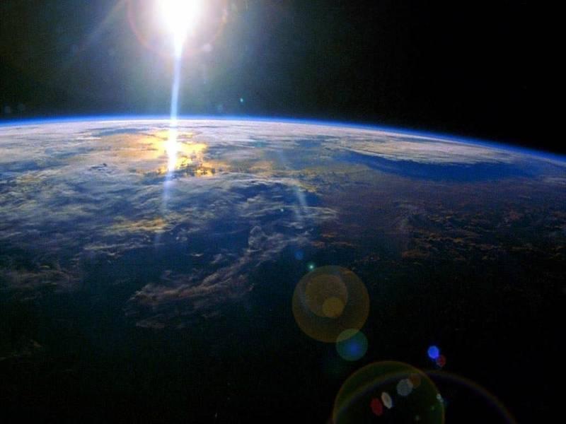 Арт рисунки земля с космоса источник
