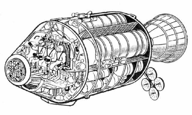 устройство космического корабля аполлон технологии
