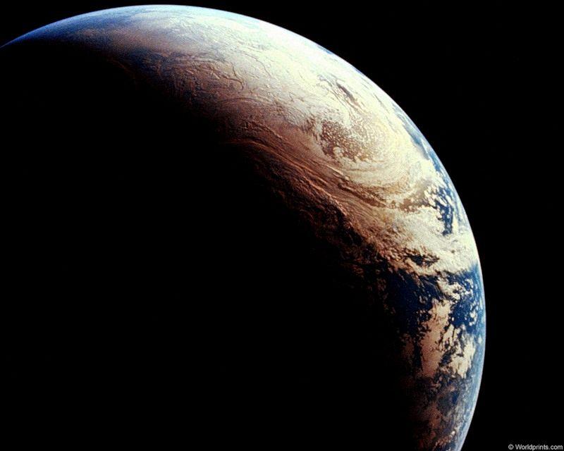 Земля вид из космоса 2