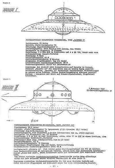 чертежи летающих дисков,